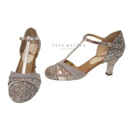 Shoe Closed Silver BP3712