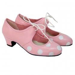 Shoe fair pink cord O92
