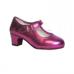Shoe fair pink laminated O80