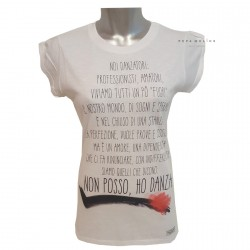 T-shirt giselle girl NON POSSO HD