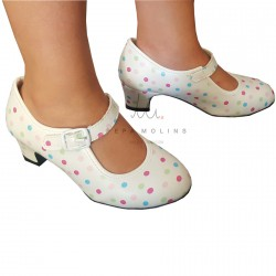 Multicolor moon shoe O92