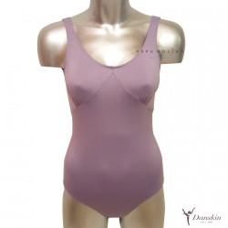 Spandex purple jersey with wide strap