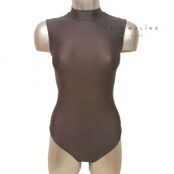 Lycra jersey with long halter neck