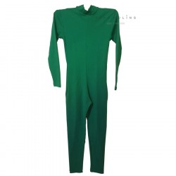kids festival basic green jumpsuit