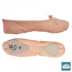 Ballet slipper on pink canvas Gladis