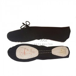Black ballet slipper BP 601